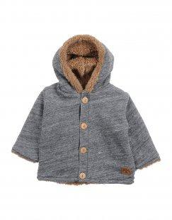 PLAY UP Jungen 0-24 monate Jacke Farbe Grau Größe 4