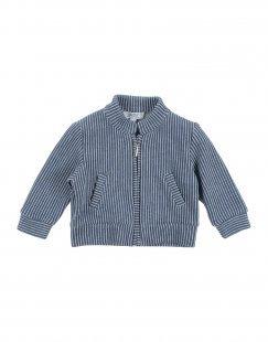 ALETTA Jungen 0-24 monate Jacke Farbe Taubenblau Größe 2