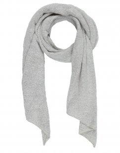 PIECES Damen Schal Farbe Hellgrau Größe 1