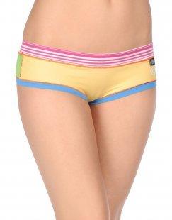 BLOOMERS & BIKINI Damen Badehose Farbe Gelb Größe 6