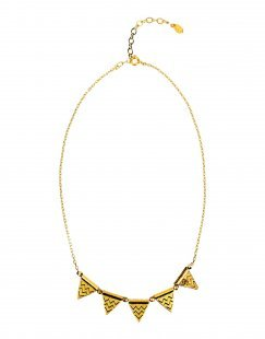 TAOLEI Damen Halskette Farbe Gold Größe 1