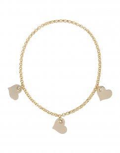 LUCILLE Damen Halskette Farbe Gold Größe 1