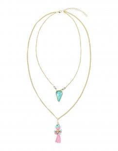 DETTAGLI Damen Halskette Farbe Gold Größe 1