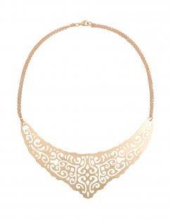 8 Damen Halskette Farbe Kupfer Größe 1