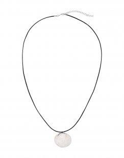 8 Damen Halskette Farbe Silber Größe 1