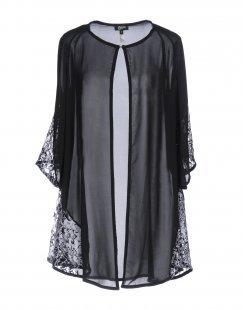CHRISTIES Damen Morgenmantel Farbe Schwarz Größe 4
