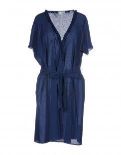 VIVIS Damen Morgenmantel Farbe Blau Größe 5