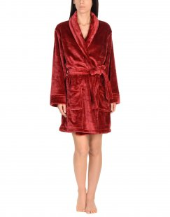 DKNY Damen Morgenmantel Farbe Bordeaux Größe 5