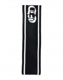 EDWA Herren Schal Farbe Schwarz Größe 1