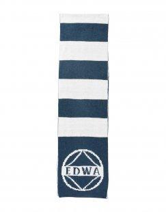EDWA Herren Schal Farbe Dunkelblau Größe 1