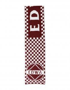 EDWA Herren Schal Farbe Bordeaux Größe 1