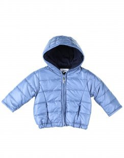 ALETTA Jungen 0-24 monate Synthetische Daunenjacke Farbe Taubenblau Größe 2