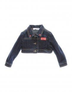 ALVIERO MARTINI 1a CLASSE Mädchen 0-24 monate Jeansjacke/-mantel Farbe Blau Größe 4