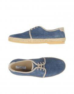 DOLCE & GABBANA Jungen 9-16 jahre Schnürschuh Farbe Blau Größe 17