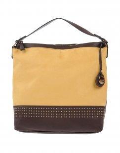 VOLUM Damen Handtaschen Farbe Ocker Größe 1