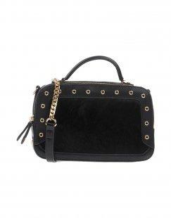 VOLUM Damen Handtaschen Farbe Schwarz Größe 1