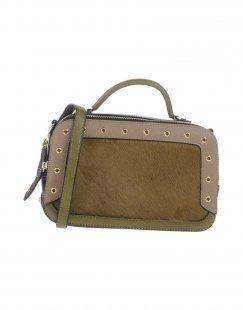 VOLUM Damen Handtaschen Farbe Militärgrün Größe 1