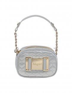 BLUGIRL BLUMARINE Damen Handtaschen Farbe Hellgrau Größe 1