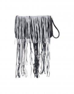 MANGANO Damen Handtaschen Farbe Schwarz Größe 1