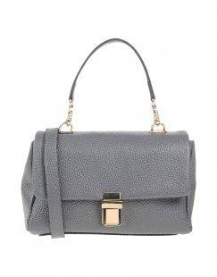 MANIFATTURE CAMPANE Damen Handtaschen Farbe Grau Größe 1