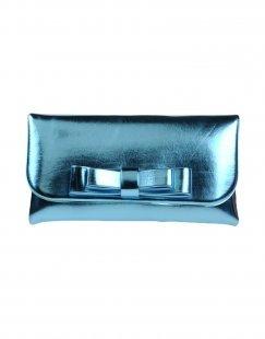 LA FILLE des FLEURS Damen Handtaschen Farbe Himmelblau Größe 1