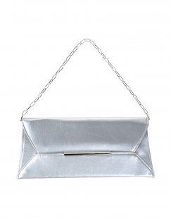 VOLUM Damen Handtaschen Farbe Silber Größe 1