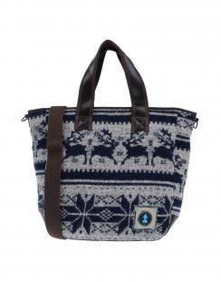 AMAZONLIFE® Damen Handtaschen Farbe Blau Größe 1