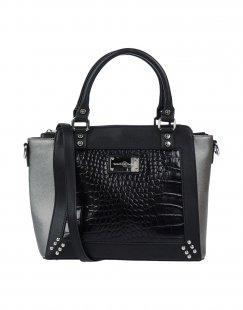 BROCH & BROCH Damen Handtaschen Farbe Schwarz Größe 1