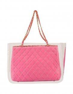 POMIKAKI Damen Handtaschen Farbe Fuchsia Größe 1