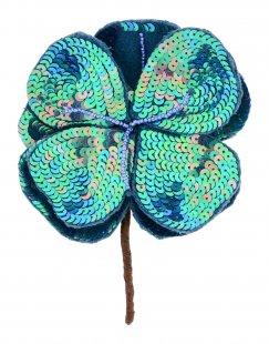 MALÌPARMI Damen Brosche Farbe Grün Größe 1