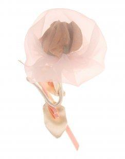 MONNALISA Damen Brosche Farbe Hellrosa Größe 1