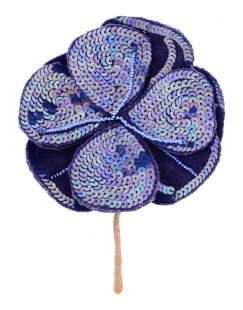 MALÌPARMI Damen Brosche Farbe Violett Größe 1