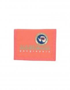 NAPAPIJRI Damen Brieftasche Farbe Koralle Größe 1