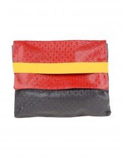 EBARRITO Damen Aktentaschen Farbe Rot Größe 1