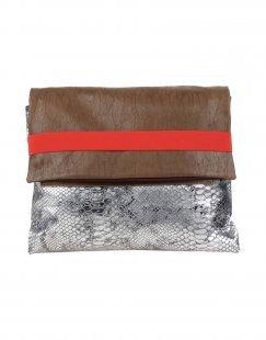 EBARRITO Damen Aktentaschen Farbe Khaki Größe 1