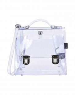 LA CARTELLA Damen Aktentaschen Farbe Transparent Größe 1