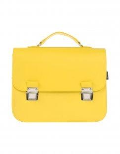 LA CARTELLA Damen Aktentaschen Farbe Gelb Größe 1