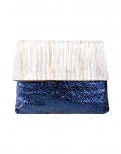 EBARRITO Damen Aktentaschen Farbe Platin Größe 1