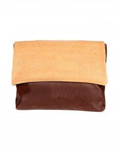 EBARRITO Damen Aktentaschen Farbe Kamel Größe 1