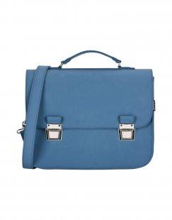 LA CARTELLA Damen Aktentaschen Farbe Taubenblau Größe 1