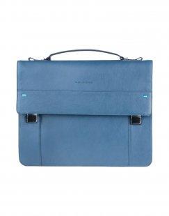 PIQUADRO Damen Aktentaschen Farbe Taubenblau Größe 1