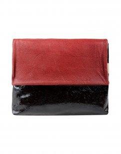 EBARRITO Damen Aktentaschen Farbe Bordeaux Größe 1