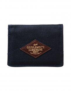 GENTLEMEN´S HARDWARE Herren Brieftasche Farbe Dunkelblau Größe 1