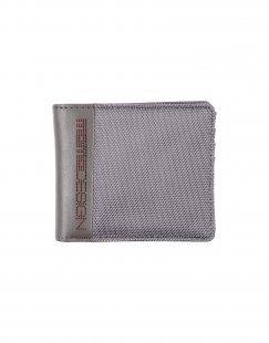 MOMO DESIGN Herren Brieftasche Farbe Blei Größe 1
