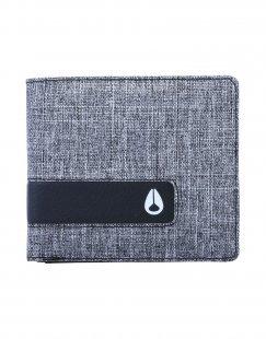 NIXON Herren Brieftasche Farbe Grau Größe 1