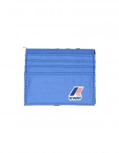 K-WAY Herren Brieftasche Farbe Blau Größe 1