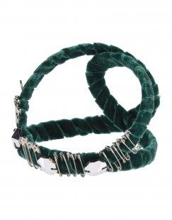 MISS GUMMO Damen Haaraccessoire Farbe Vert Émeraude Größe 1