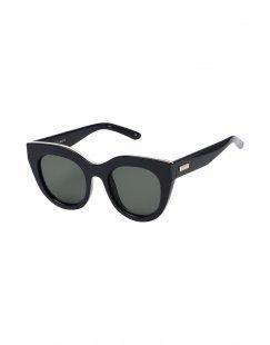 LE SPECS Damen Sonnenbrille Farbe Schwarz Größe 1