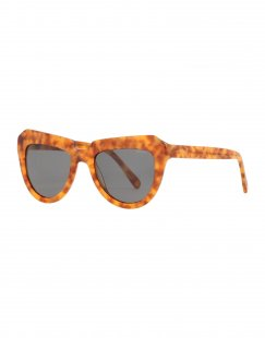 KOMONO Damen Sonnenbrille Farbe Braun Größe 9