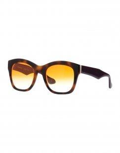 LEO STUDIO DESIGN Damen Sonnenbrille Farbe Braun Größe 1